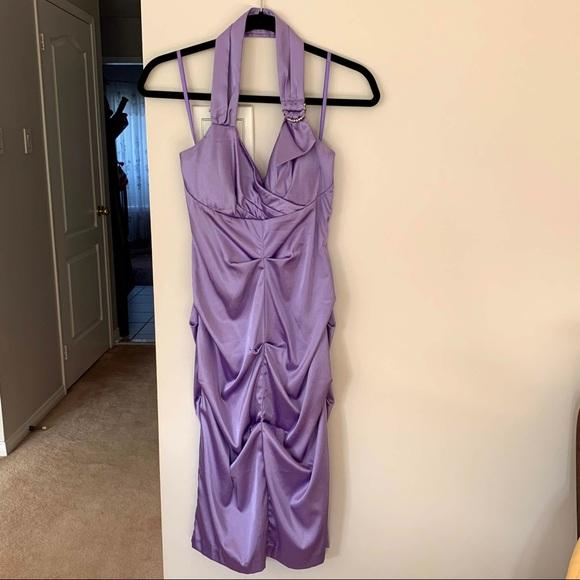Le Chateau Lilac Dress